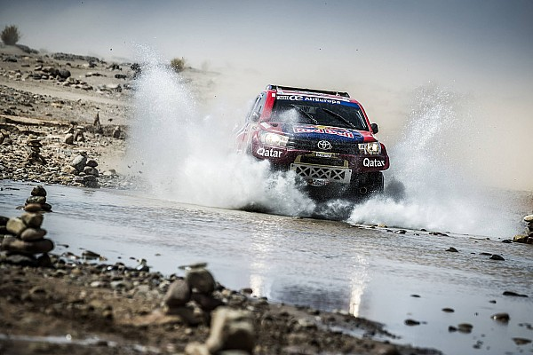 Cross-Country Rally Noticias de última hora Al-Attiyah contra los Peugeot en el Silk Way Rally 2017