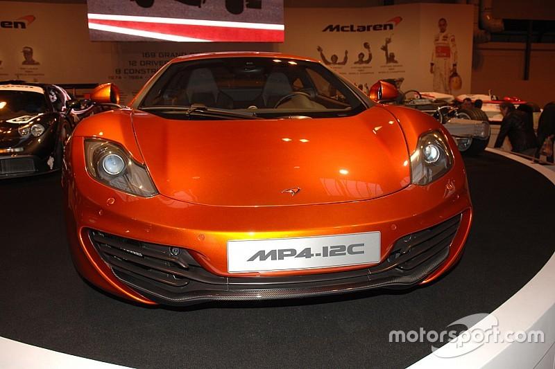 Vidéo - Une McLaren MP4-12C accidentée par manque de vigilance