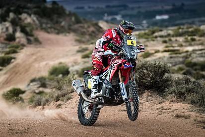 Kevin Benavides vuelve a subirse a una moto