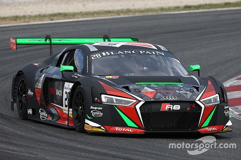 Will Stevens continua con l'Audi WRT nel Blancpain GT
