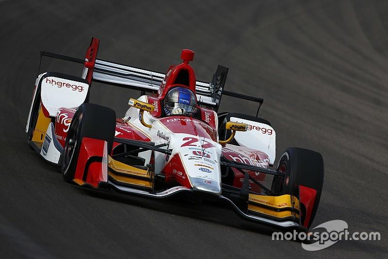 EL1 - Andretti devant, Power dans le mur
