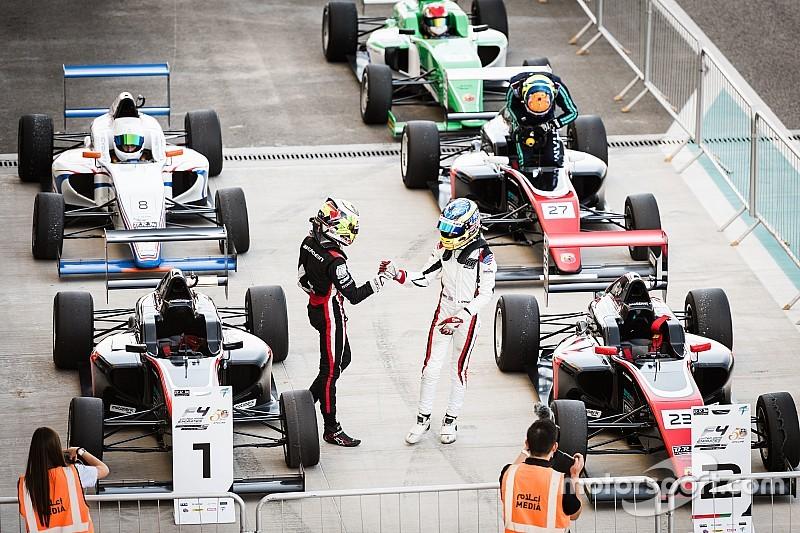 جوناثان أبردين يحصد لقب بطولة الفورمولا 4 الإماراتيّة في موسمها الأوّل