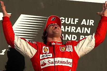 El debut soñado de Alonso en Ferrari