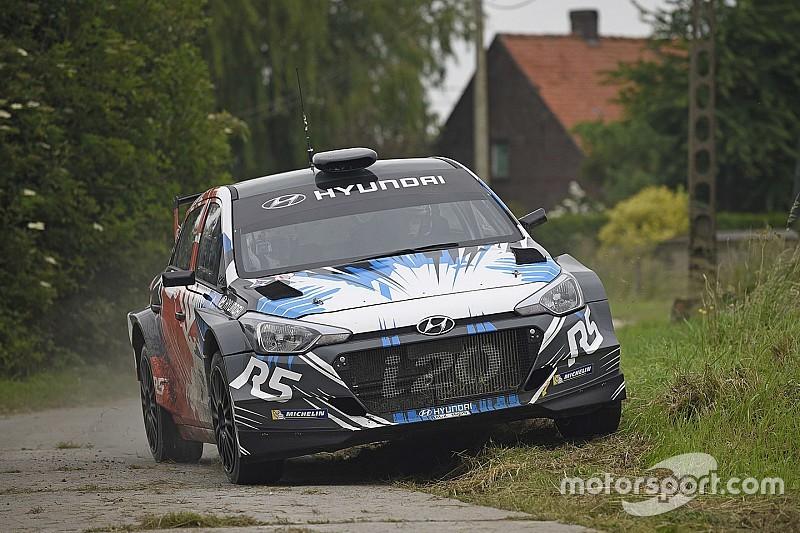 CIR: Hayden Paddon al via del Rallye Sanremo con una Hyundai i20 R5
