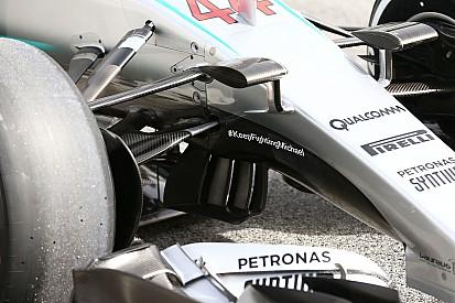 ¿Por qué Mercedes ya no tiene el mensaje de apoyo a Schumacher?
