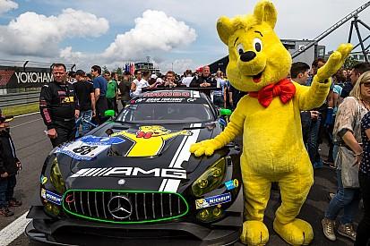Renger van der Zande met Haribo Racing in 24 uur Nürburgring