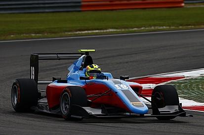 Alessio Lorandi al via della GP3 con la Jenzer Motorsport