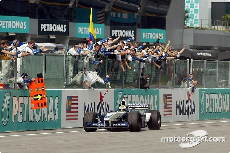 Ezen a napon: kettős Williams-győzelem a maláj forróságban
