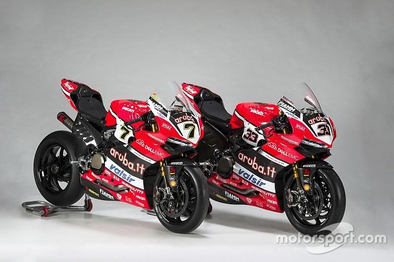 Perbedaan antara Ducati milik Davies dan Melandri