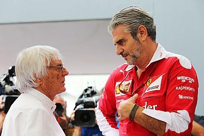 Ecclestone bela bonus tambahan untuk Ferrari