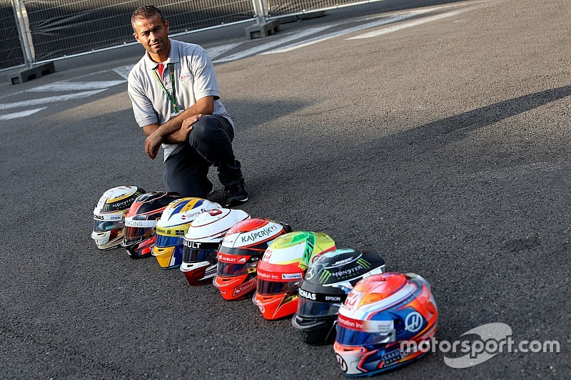 Mi trabajo en la F1... El responsable técnico de los cascos