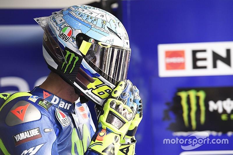 Galeri: Desain helm Valentino Rossi sejak tes MotoGP 2003