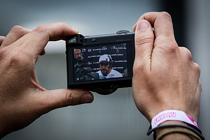 F1 beri kelonggaran media sosial di Grand Prix