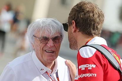 Ecclestone reméli, Vettel lesz a bajnok a Ferrarival