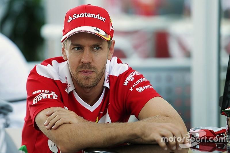 """El test de los """"secretos"""" de Sebastian Vettel"""