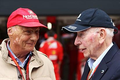 Mansell, Surtees'in cenaze törenine katıldı