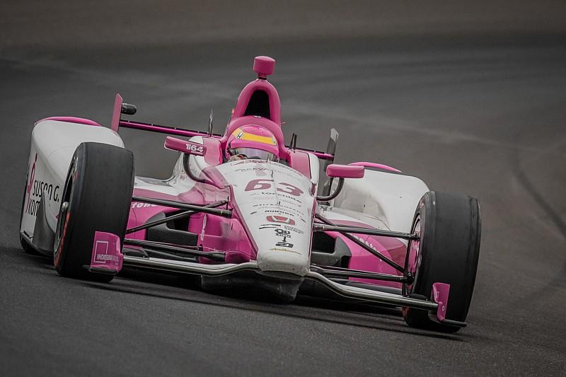 Frau am Steuer: Pippa Mann fährt beim Indy 500 der IndyCar-Saison 2017