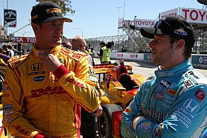 IndyCar Noticias de última hora Pilotos de Andretti optimistas de cara a Long Beach