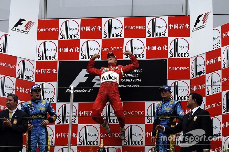 La última victoria de Michael Schumacher en F1
