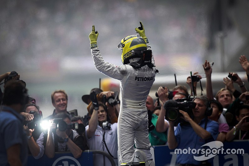 GALERÍA: Rosberg y su primer triunfo de F1 en China