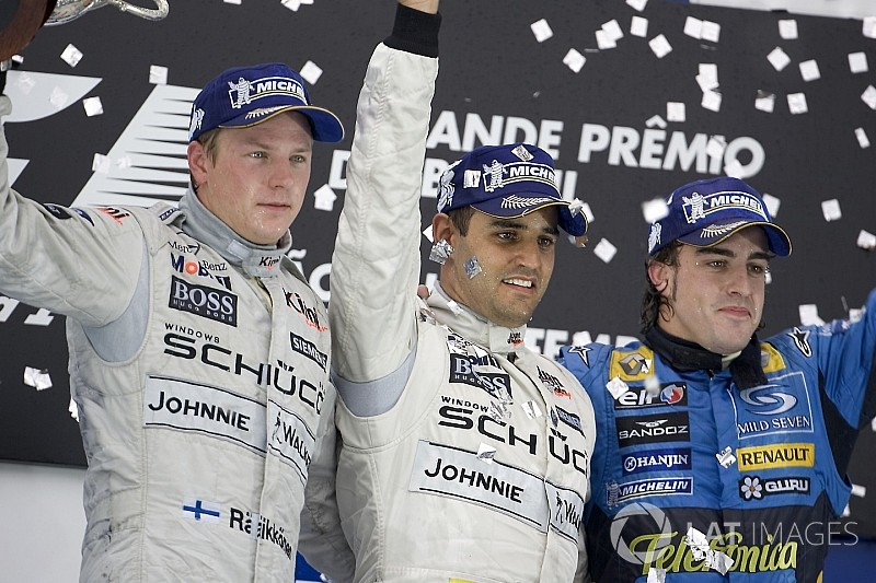 Todos los ganadores del GP de Brasil de F1, en fotos