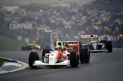 Ezen a napon: Ayrton Senna varázslatos első köre a doningtoni esőben