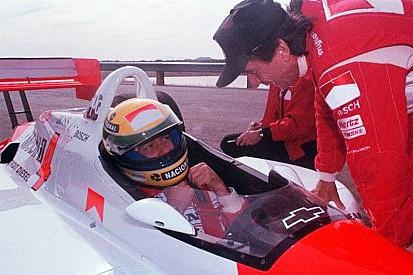Ketika Aryton Senna mencoba mobil IndyCar