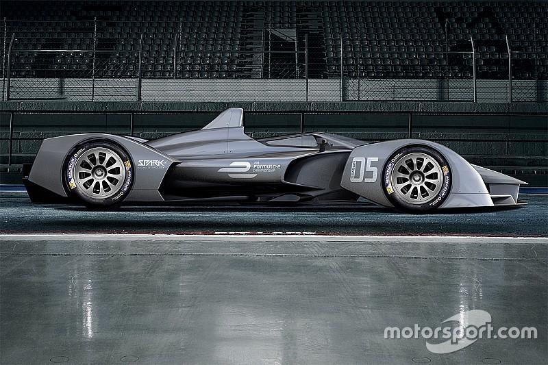 El coche para la quinta temporada de la Fórmula E se probará en octubre