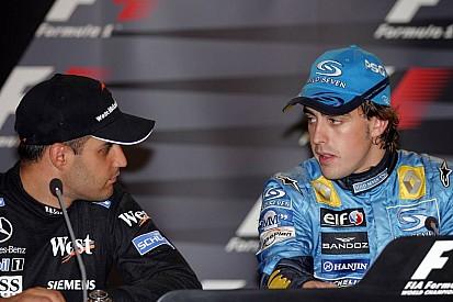 "Montoya avisa Alonso sobre desafio: ""Andar no tráfego"""