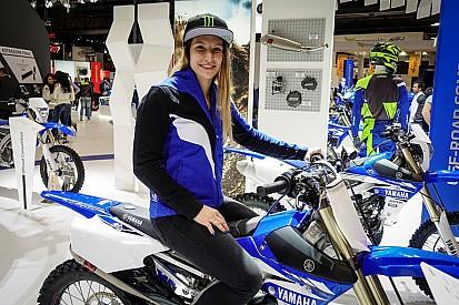 Kiara Fontanesi correrá con los chicos en MX2