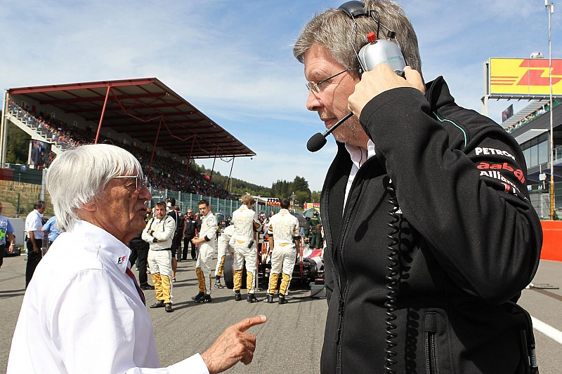 Brawn: I couldn't work with Ecclestone