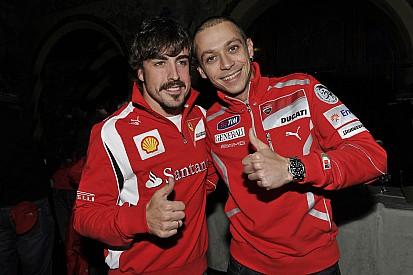 """MotoGP-Idol Rossi """"sehr gespannt"""" auf F1-Star Alonso beim Indy 500"""