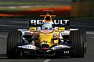 Alonso : Renault n'a