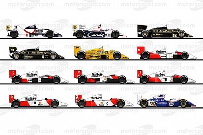 Ayrton Senna'nın F1 kariyerinde kullandığı araçlar