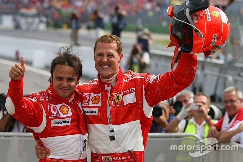 Massa reminded of Schumacher's mentorship by Stroll link-up