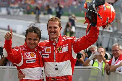 Massa teringat Schumacher ketika jadi mentor Stroll