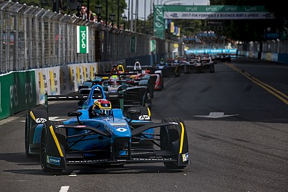 La grille de départ de l'ePrix de Monaco