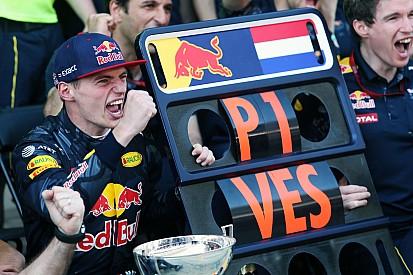 In beeld: De overwinning van Max Verstappen in Spanje