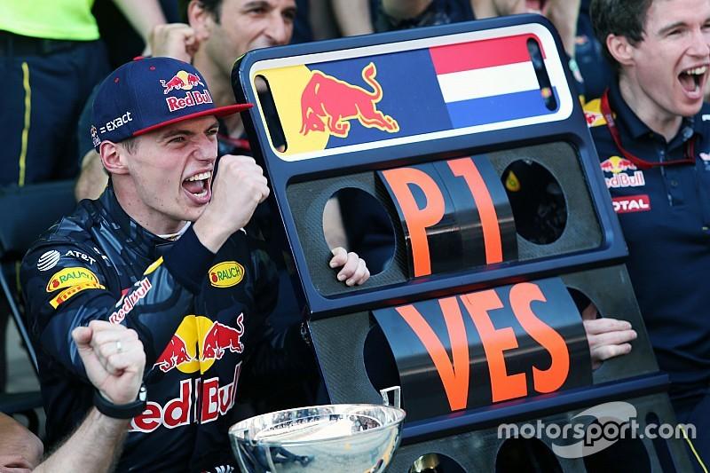 Terugblik in beeld: De overwinning van Max Verstappen in Spanje
