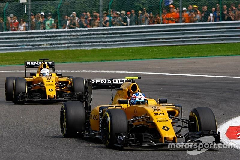 Renault F.1 ha ridotto notevolmente le perdite economiche nel 2016