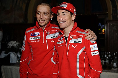 Rossi berharap yang terbaik untuk Hayden