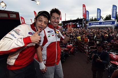 Passé le choc, Rossi commence à réaliser ce qui arrive à Hayden