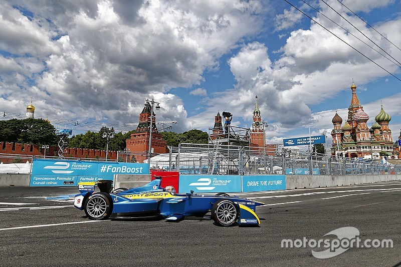 Москва поборется с Цюрихом за этап Формулы E