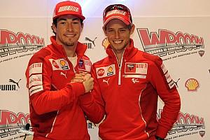 MotoGP Reactions Stoner: Hayden rekan setim yang fantastis