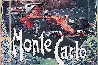 Ferrari подготовила ретро-постер к Гран При Монако