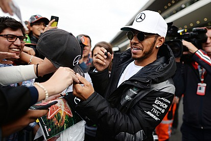 Tingkat kepopuleran Hamilton mulai samai Schumacher