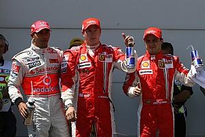 Fórmula 1 Conteúdo especial GALERIA: Qual era a cara da F1 na última pole de Raikkonen?
