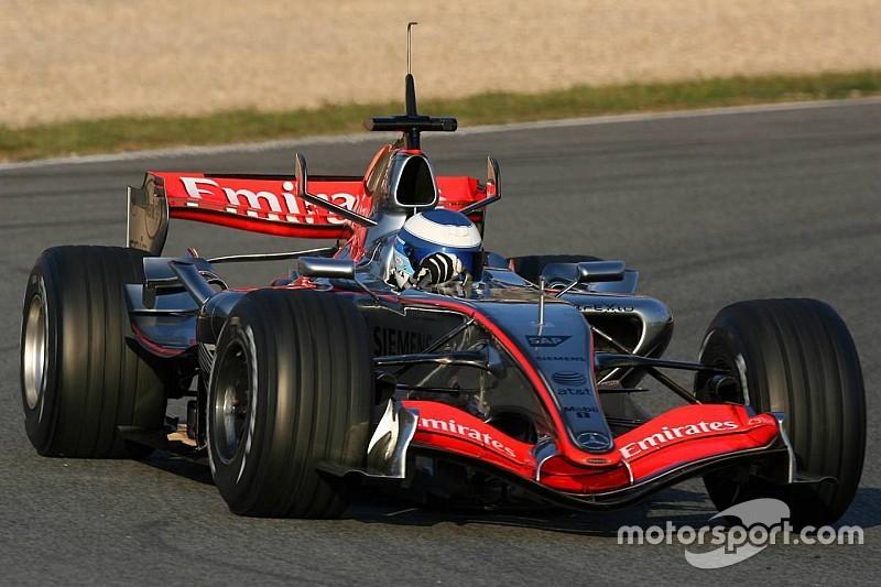 """Galería: los """"cameos"""" más sorprendentes de la historia en test de F1"""