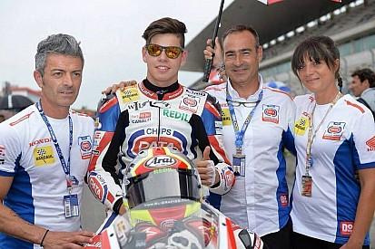 El mallorquín Augusto Fernández debuta en el Mundial de Moto2