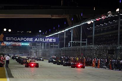 Pirelli aún no revela sus gomas para Spa y Monza pero sí para Singapur